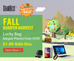 Gearbest Autumn Sale